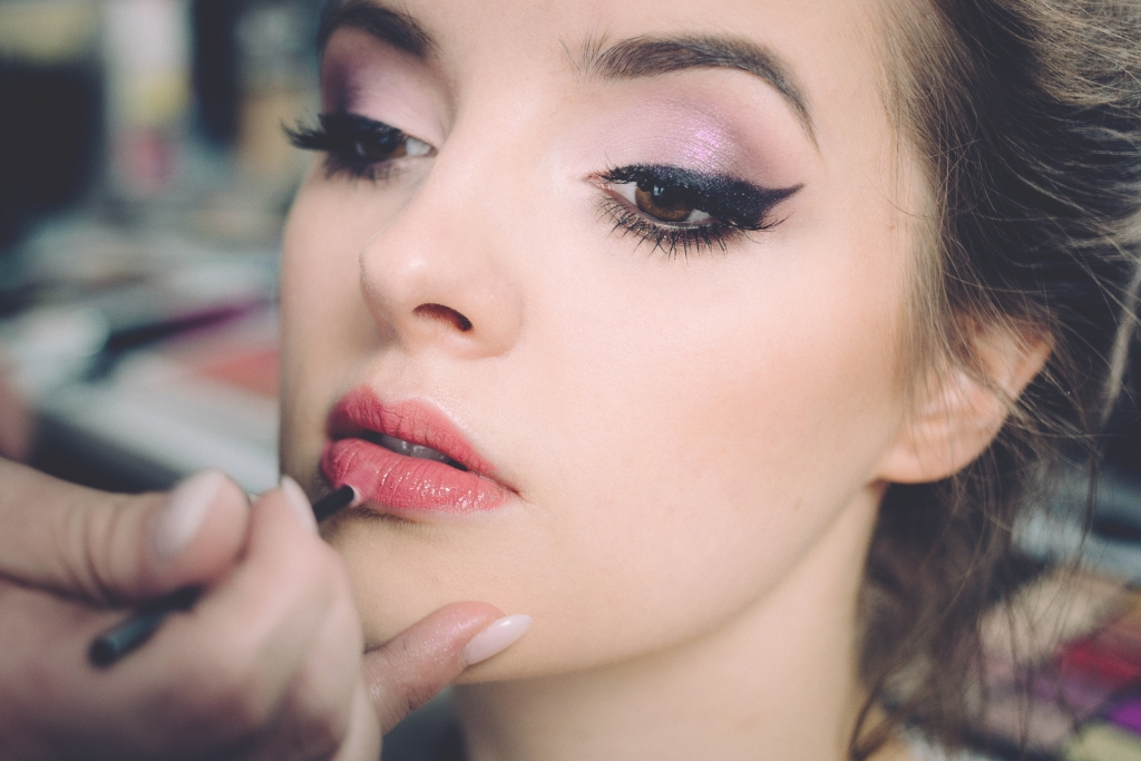 Stewardess werden - Make up