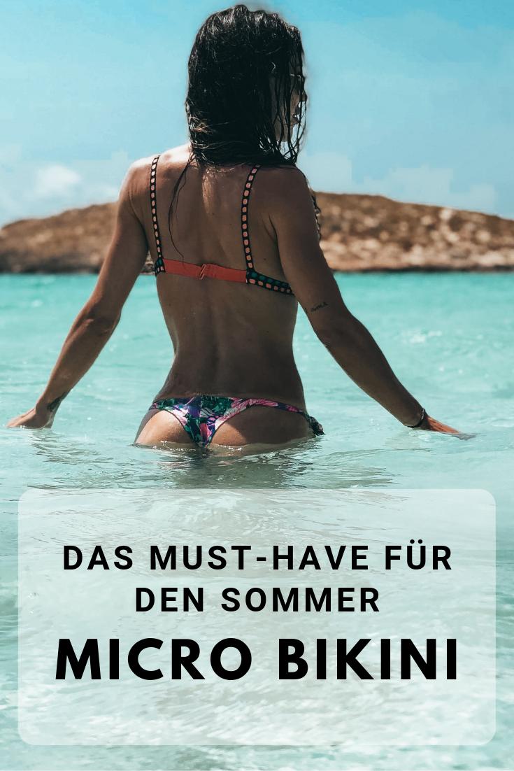 Micro Bikini - Das Must-have für den Sommer