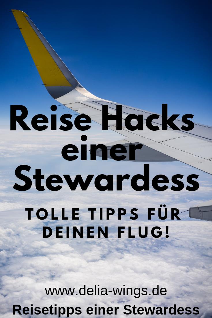 Reise Hacks einer Stewardess - Tolle Tipps für deinen Flug!