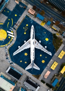 Tipps gegen Flugangst - ein parkendes Flugzeug