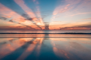 Jetlag vermeiden - Sonnenaufgang