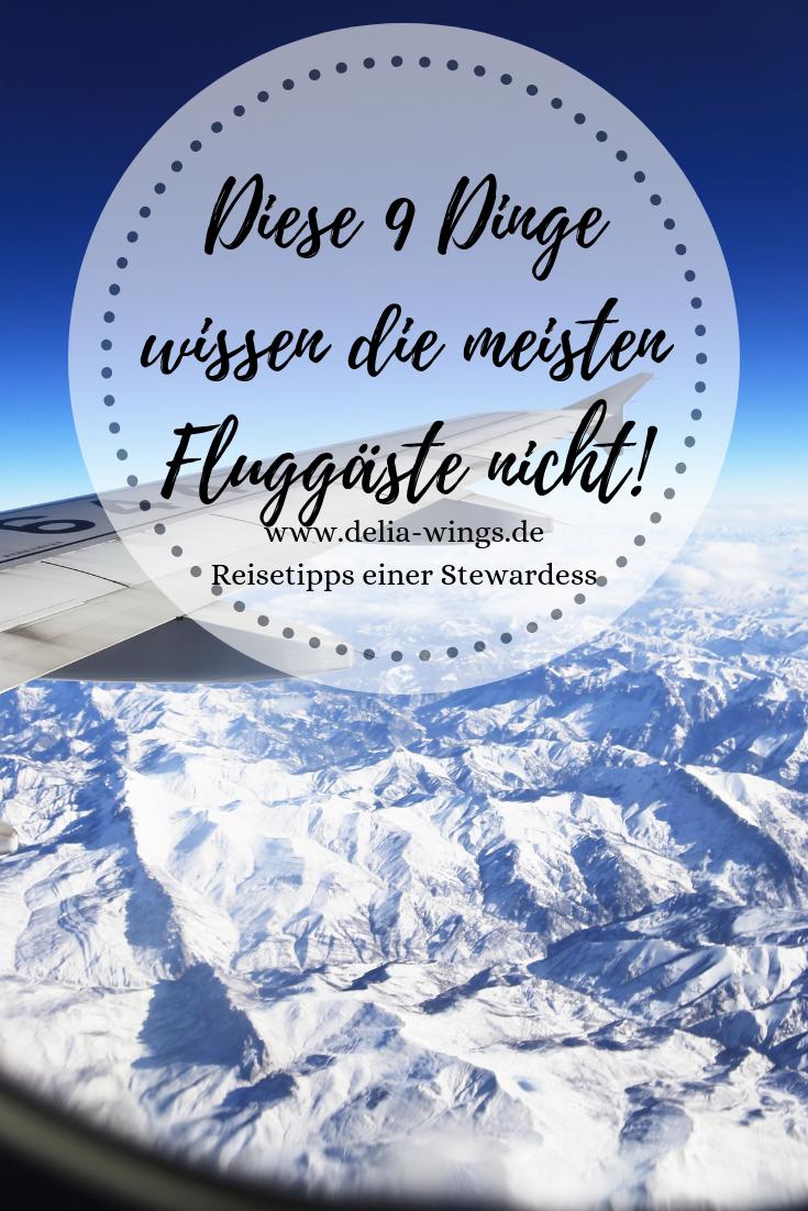 Reisetipps: Diese 9 Dinge wissen die meisten Fluggäste nicht