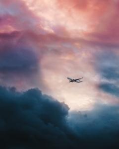 Turbulenzen im Flugzeug sind normal