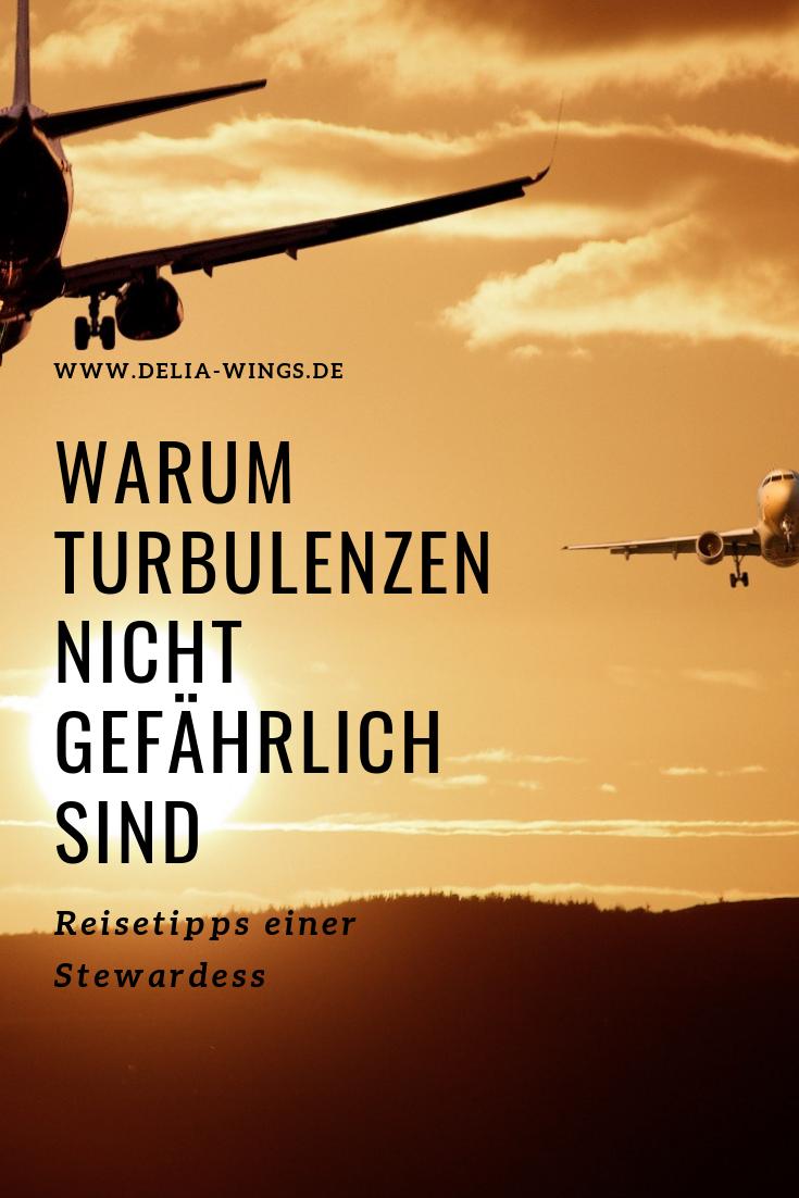 Flugangst Tipps: Turbulenzen sind nicht gefährlich