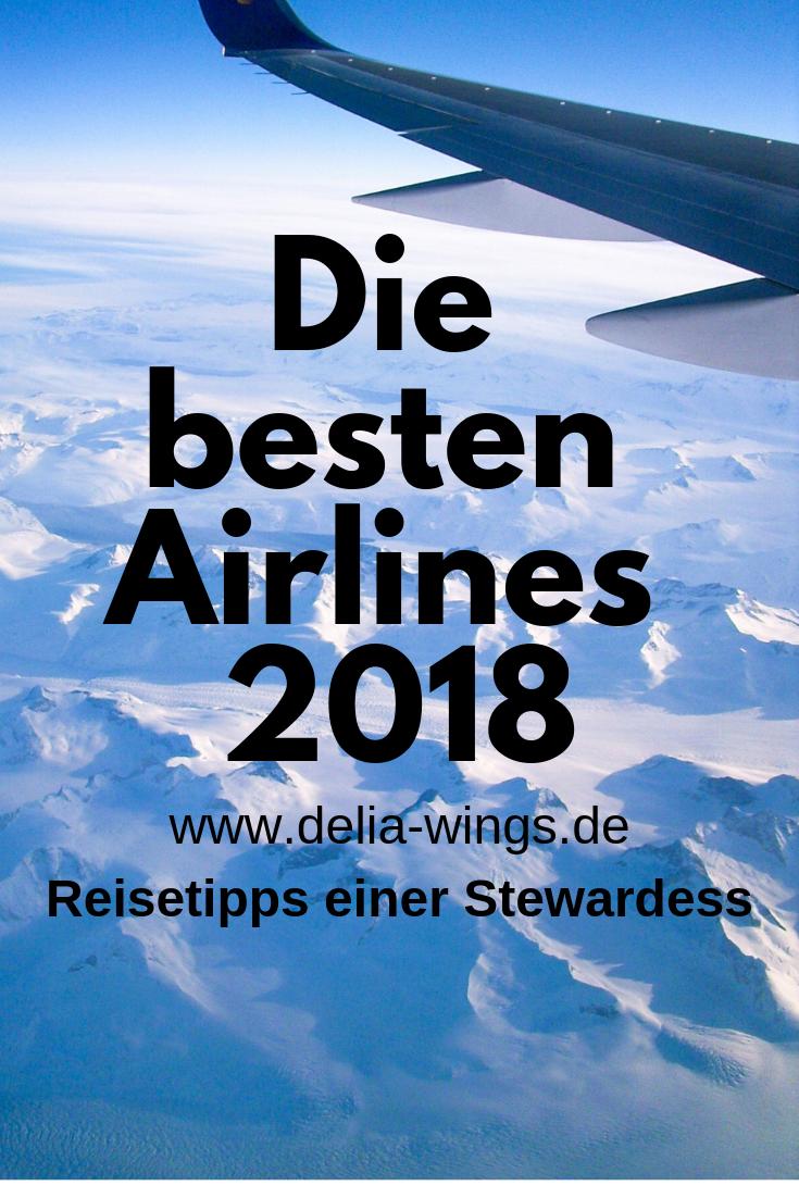 Skytrax hat die besten Airlines 2018 gekürt!