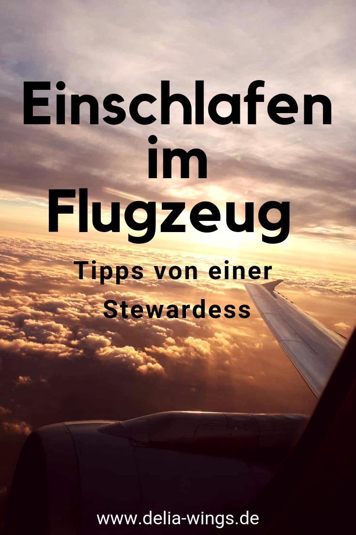 Einschlafen im Flugzeug: Tipps von einer Stewardess