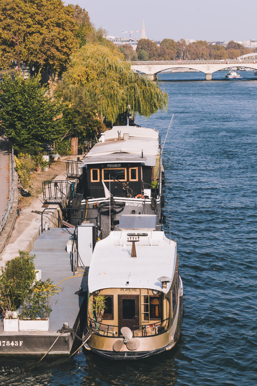 Ausgefallene Unterkünfte - Hausen im Hausboot