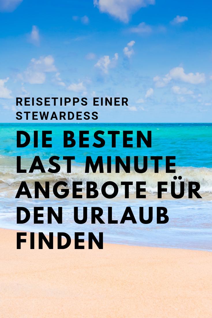 Last Minute Tipps für den Urlaub