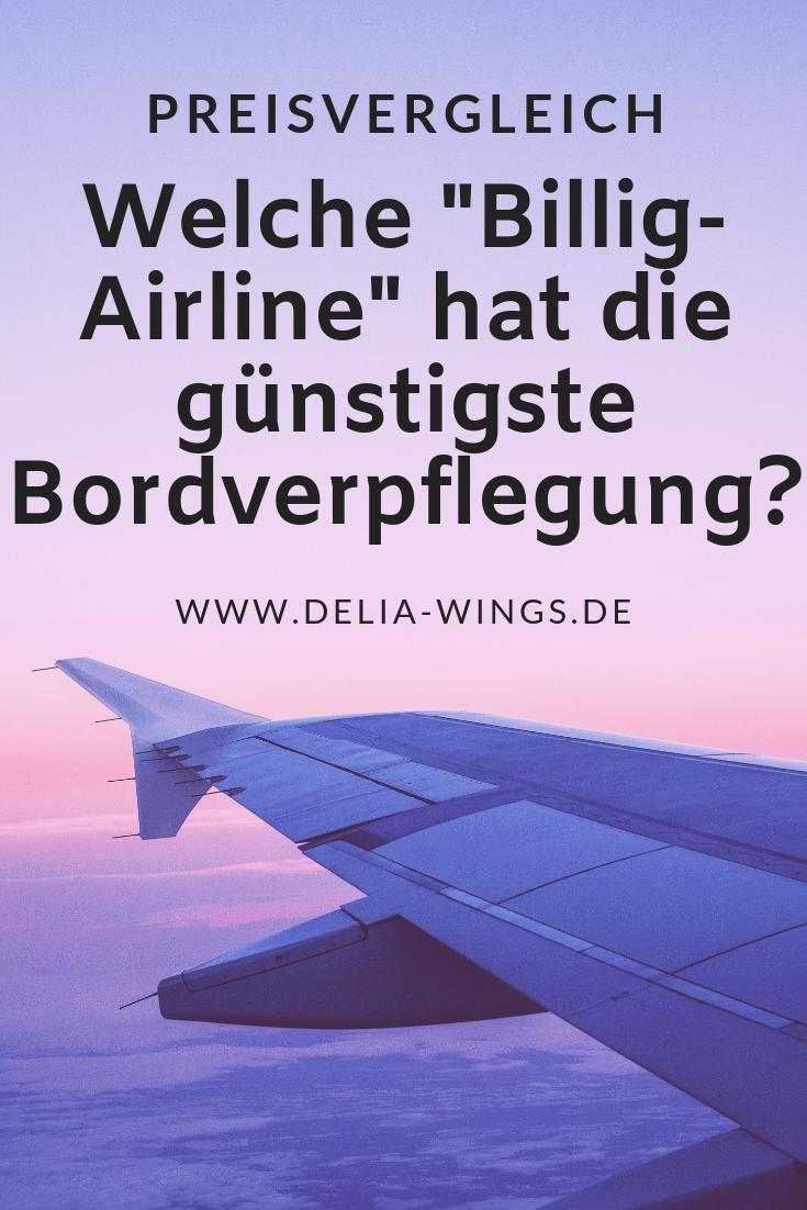 """Bordverpflegung von """"Billig-Airlines"""""""