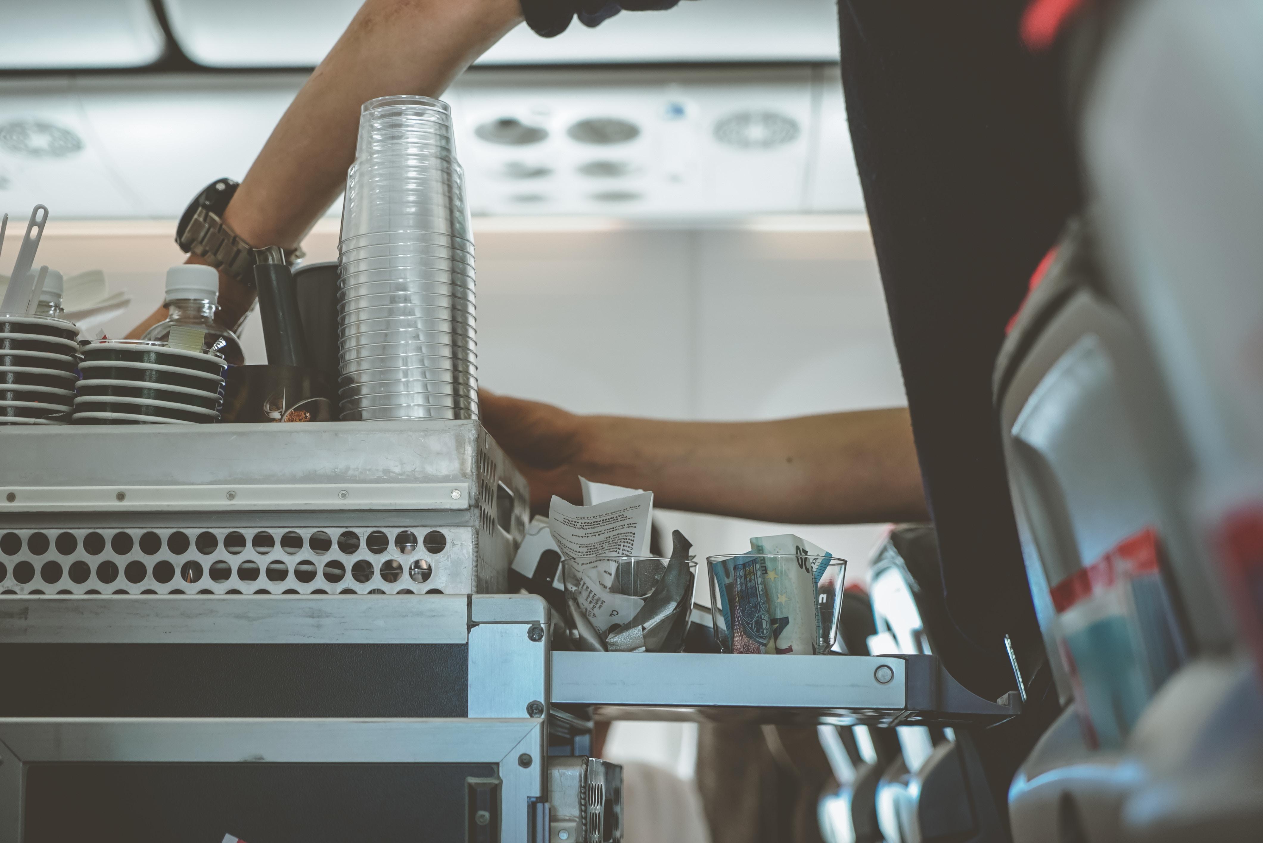 Bordverpflegung bei sogenannten Billig-Airlines