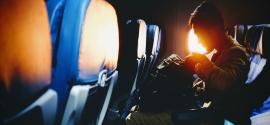 Handgepäck im Flugzeug