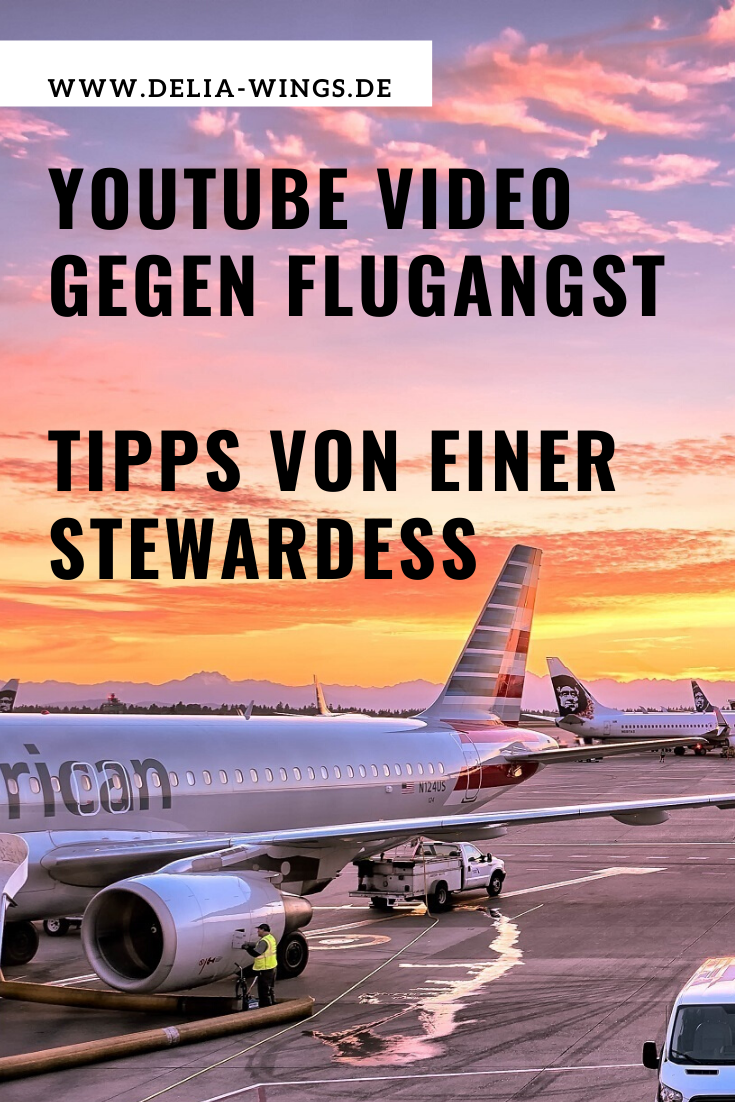 Flugangst überwinden Youtube Video Pin
