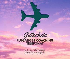 Flugangst Coaching Telefonat Gutschein