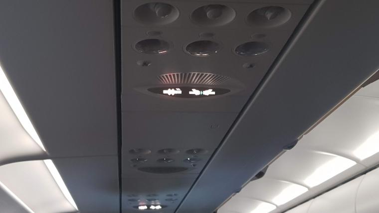 Klingeln im Flugzeug
