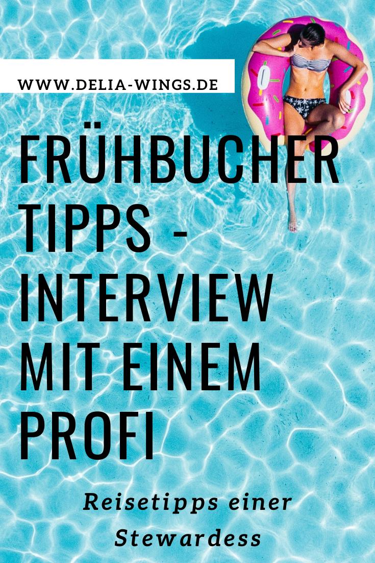 Frühbucher Tipps